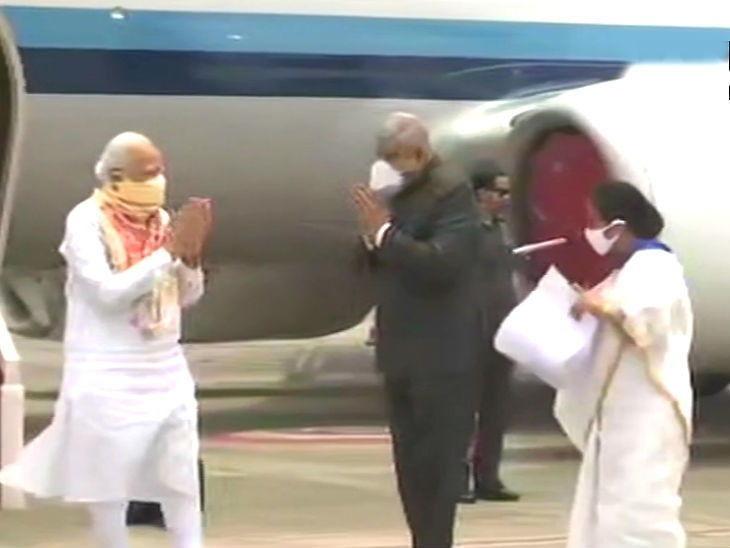PM મોદી પશ્ચિમ બંગાળ પહોંચ્યા,  મમતા સાથે વડાપ્રધાન મોદીએ હવાઈ સર્વે શરૂકર્યો